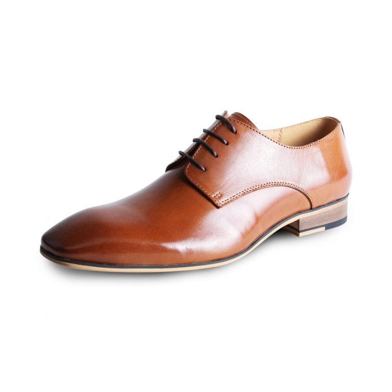 Tan shoe by Justin Reece