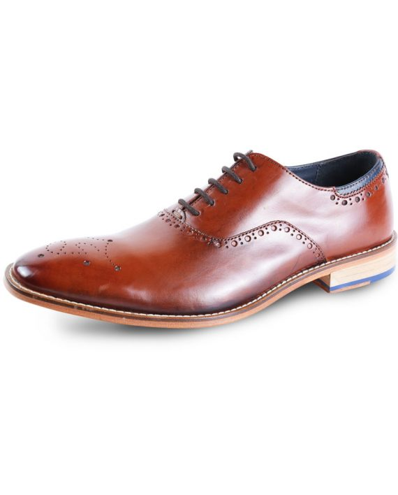Wiswell Tan shoe by Goodwin Smith