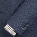 Donegal Blue Tweed 3 piece suit by Gibson
