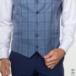 Hogan Petrol Blue Suit with Harold Waistcoat