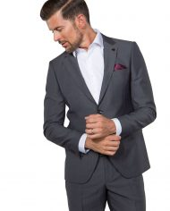 Hogan Grey 3 Piece Suit