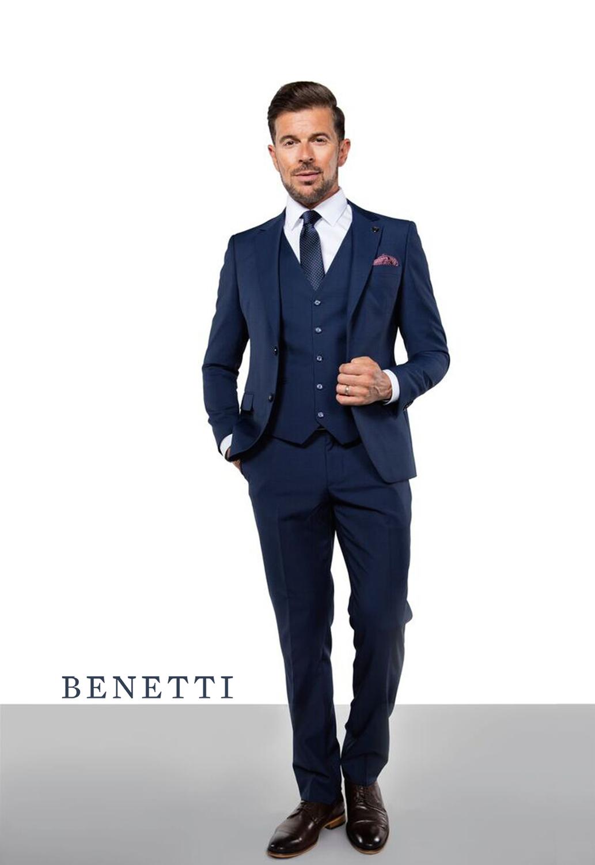 d03c2df0cae Hogan Petrol Blue 3 Piece Suit - Tom Murphy's Formal and Menswear