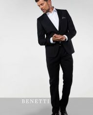 James Black 3 Piece Suit by Benetti