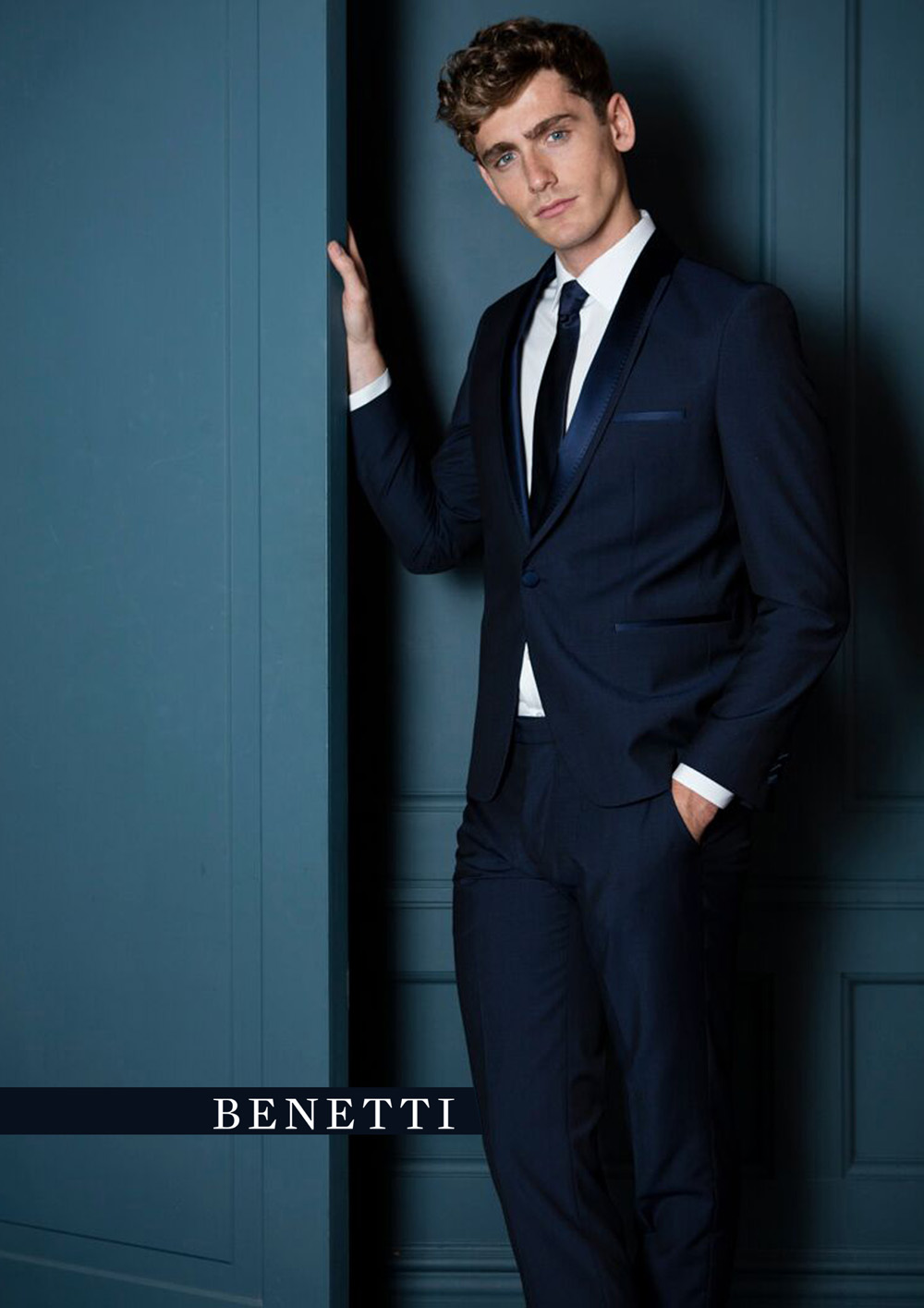 Cusack Shawl Collar Tuxedo by Benetti from Tom Murphy Menswear