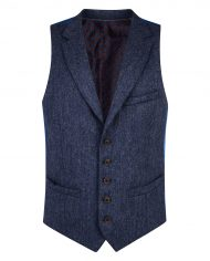 Blue Salt & Pepper Donegal Tweed 3 Piece Suit
