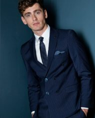 Martelli Navy 2 Piece Suit by Benetti