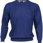 Dingle Cobalt Crew Neck Jumper