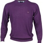 Dingle Purple Crew Neck Jumper