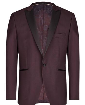 Burgundy Mohair Tuxedo