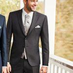 Modern Brown 3 Piece Wedding suit
