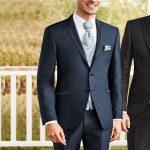 Trend Blue 2 Button 3 Piece Wedding Suit
