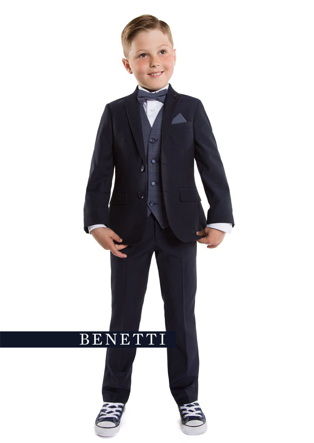 1f89434b5922e0 Cusack Navy 3 Piece Boys Suit - Tom Murphy's Formal and Menswear