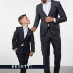 Hogan Grey 2 Piece Boys Suit