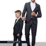 Boys Suits Hogan Grey