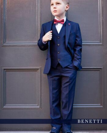 Hogan Petrol Blue 3 Piece Boys Suit