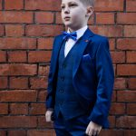 Sienna Admiral Blue 3 Piece Boys Suit