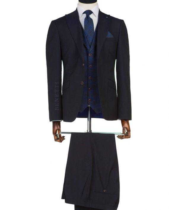 New Collection Black 3 Piece Suit