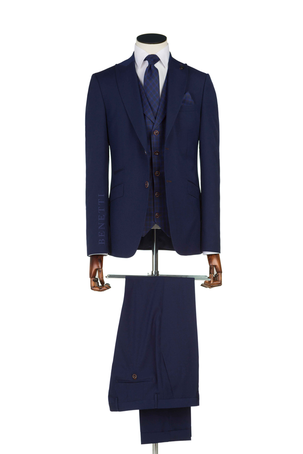 New Collection Navy 3 Piece Suit