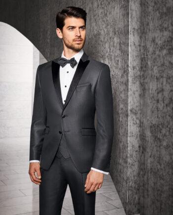Prestige Anthracite Glencheck 3 Piece Suit