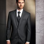 Prestige Modern Anthracite 3 Piece Suit