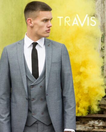 Xavi Grey 3 Piece Suit