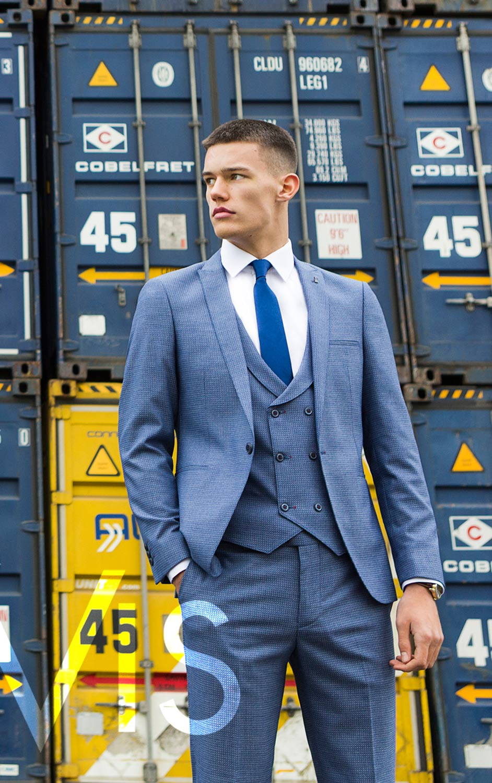 Hernandez Petrol 3 Piece Suit - Tom Murphy\'s Formal and Menswear
