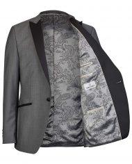 Grey Drop 8 Tuxedo