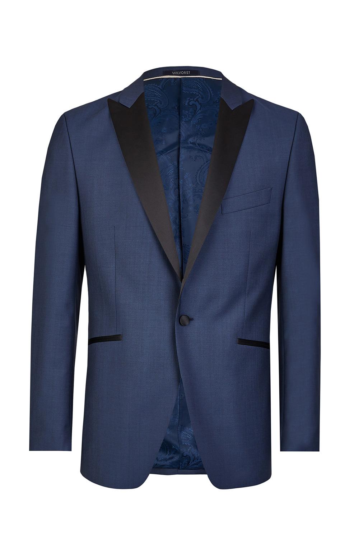 Blue Mohair Tuxedo