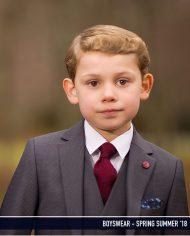 Hogan Grey 3 Piece Boys Suit