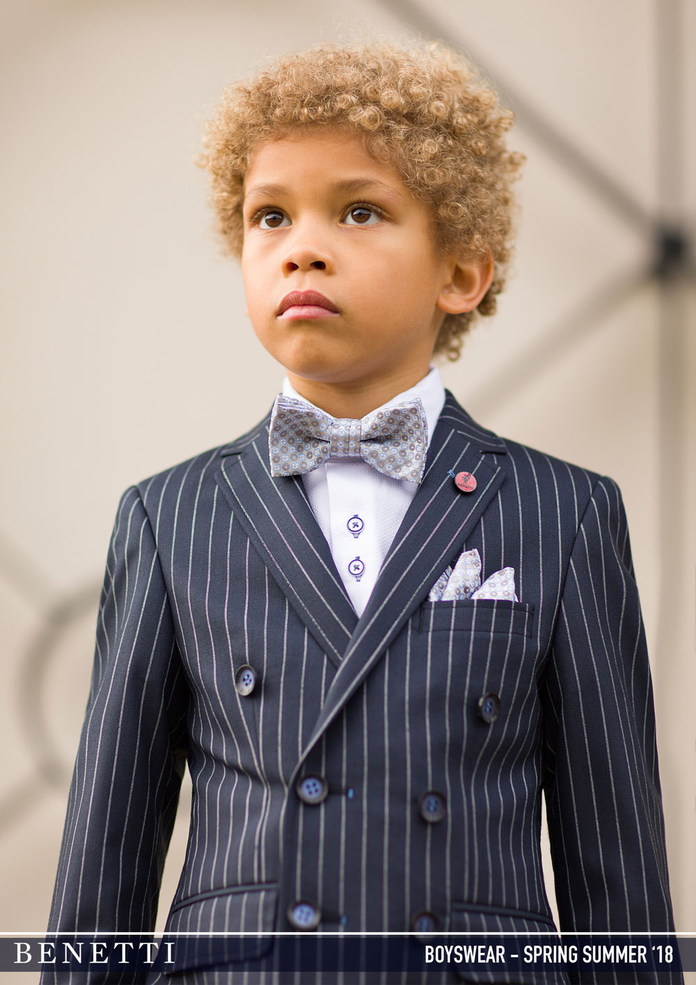 8ad1d003b3a McGregor Navy Pinstripe 2 Piece Boys Suit - Tom Murphy s Formal and ...