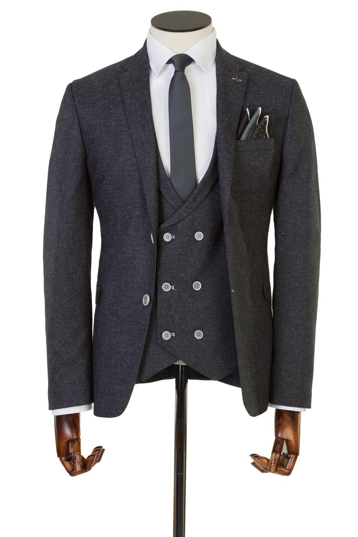 Bowe Grey 3 Piece Suit