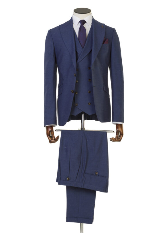 Coleman Navy 3 Piece Suit