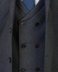 Keane Grey  3 Piece Suit