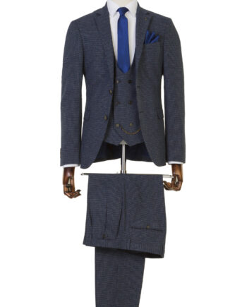 McClean Navy 3 Piece Suit