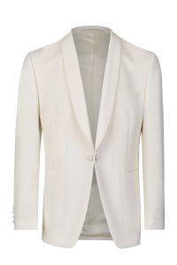 Dinner jacket white slim line