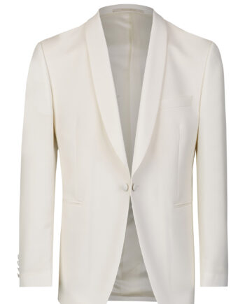 Dinner jacket white slim line