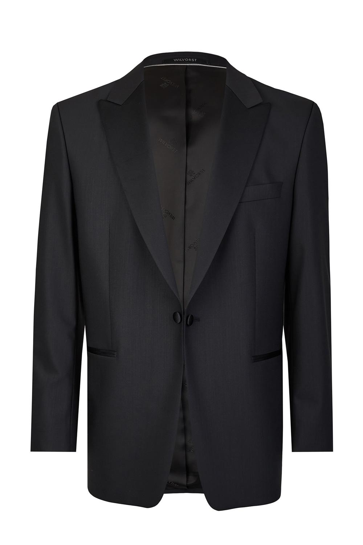 Black Tuxedo Smoking Jacket 3 Piece Suit