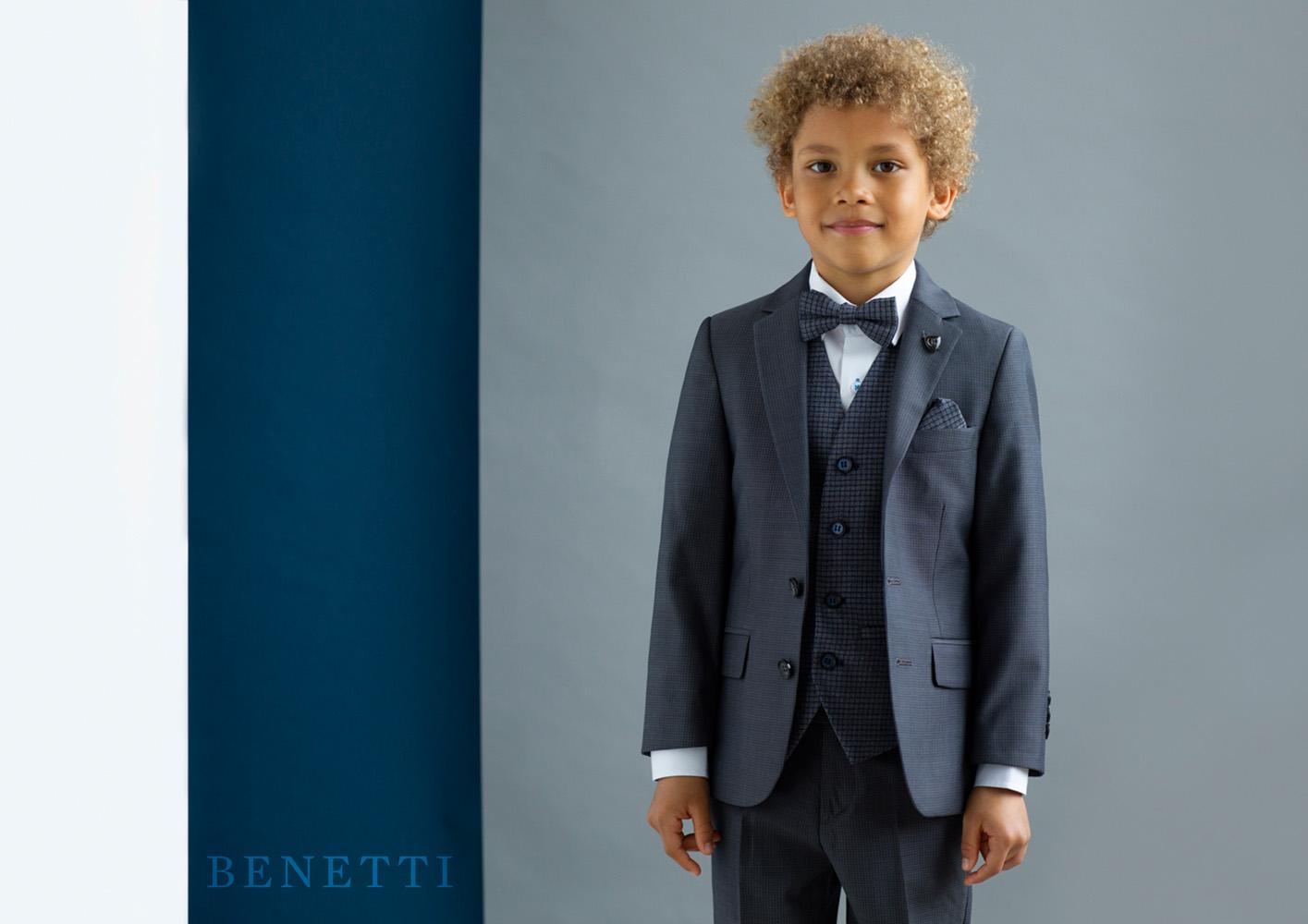 James Grey Tweed Boys 3 Piece Suit - Tom Murphy\'s Formal and Menswear