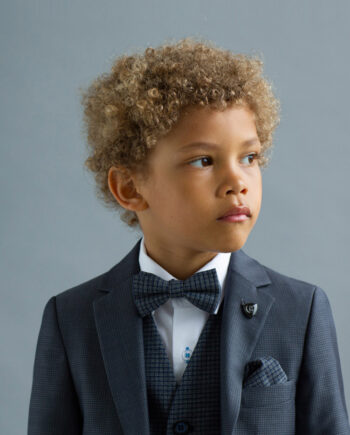 James Grey Tweed Boys 3 Piece Suit