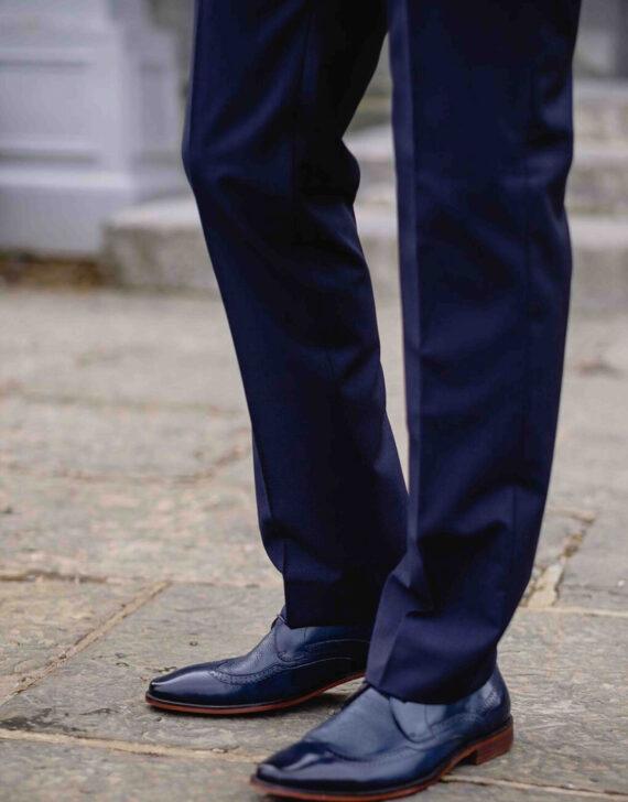 Cusack Shawl Navy Tuxedo