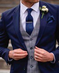 James Navy Hackett 3 Piece Suit