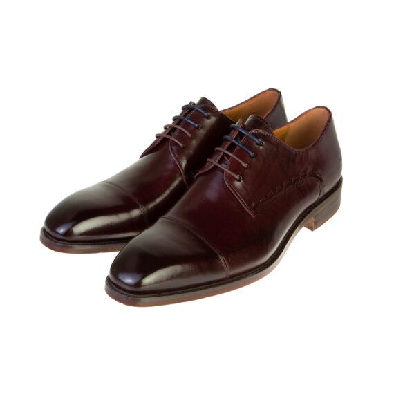 Arthur Burgundy Shoe