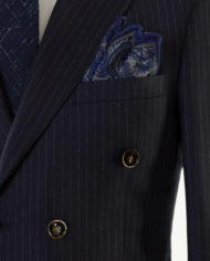 Best Navy Pinstripe Double Breasted suit