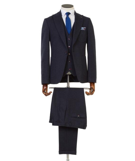 Ormond Navy Tweed 3 piece suit