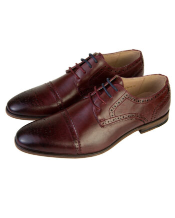 Spencer Burgundy Shoe