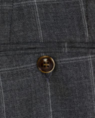 Zidane Grey Check Tweed 3 piece suit