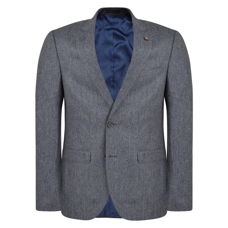 Grey & Navy Donegal Tweed 3 Piece Suit