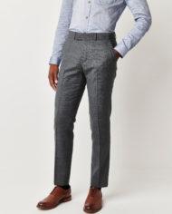 Blue Textured 3 Piece Suit