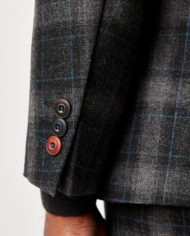 Charcoal Tartan Check 3 Piece Suit