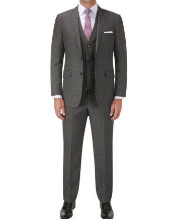 Harcourt Tailored Grey 3 Piece Suit